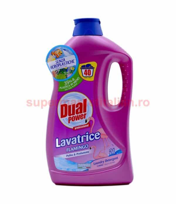 Detergent lichid Dual Power Lavatrice Flamingo