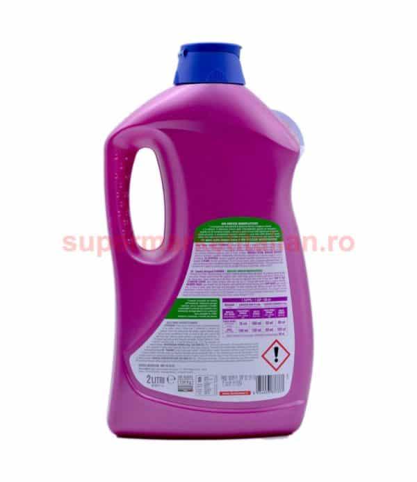 Detergent lichid Dual Power Lavatrice Flamingo 40 de spălări 2 litri 8054633837337 2