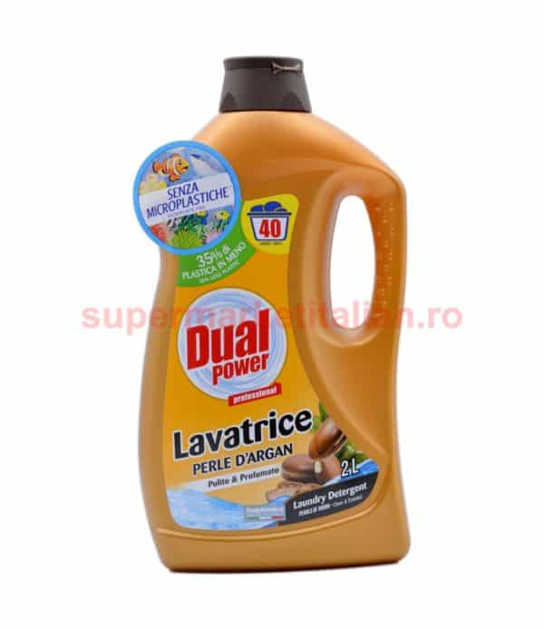 Detergent lichid Dual Power cu Argan 40 de spălări 2 litri 8054633837306 2
