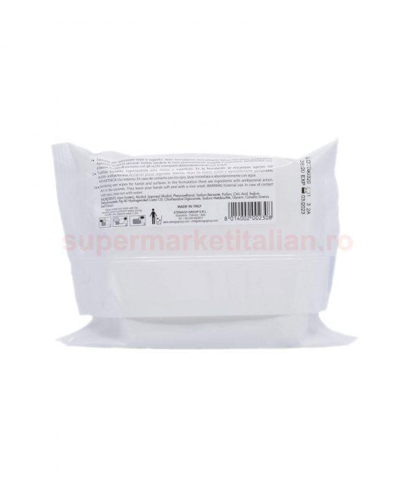 ervețele umede antibacteriene Stenago pentru mâini și suprafețe 20 bucăți 8014002002308 2