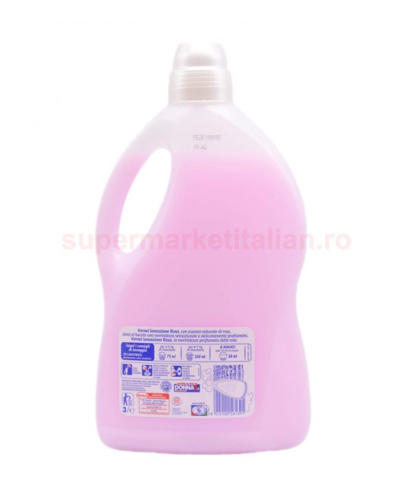 Balsam de Rufe Vernel Senzazione Rosa 40 spălări 3000 ml 8015100561391 2