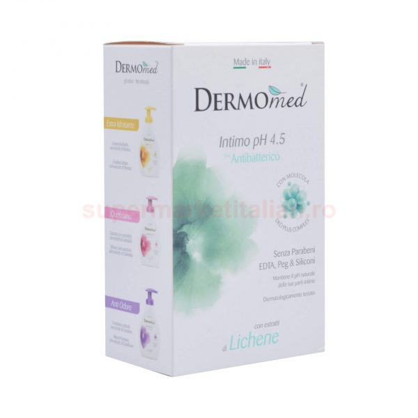 Săpun intim Dermomed cu Extract de Licheni 250 ml 8054633830765 2