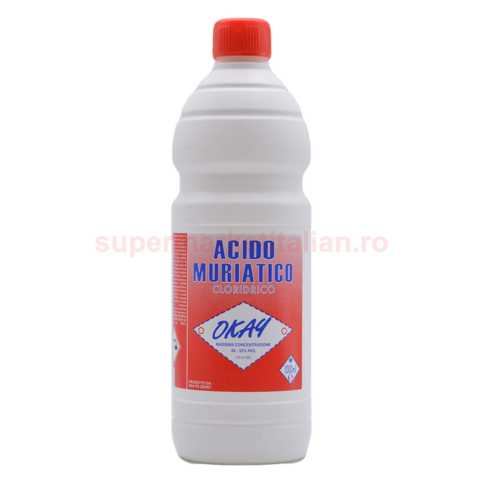 Acid Clorhidric Okay 1000 ml