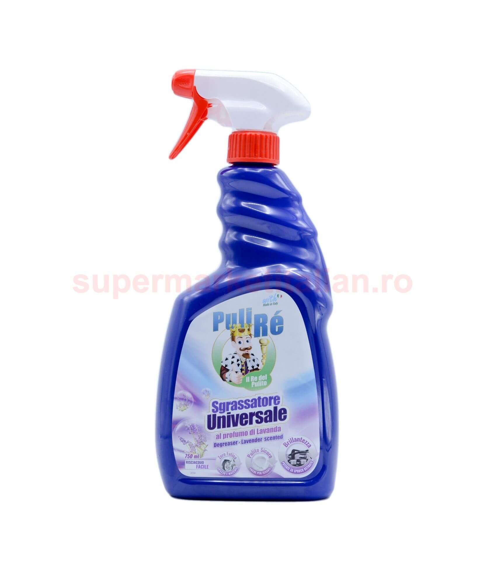Pulverizator Degresant Universal Puli Re cu lavanda 750 ml 8054633837269 1