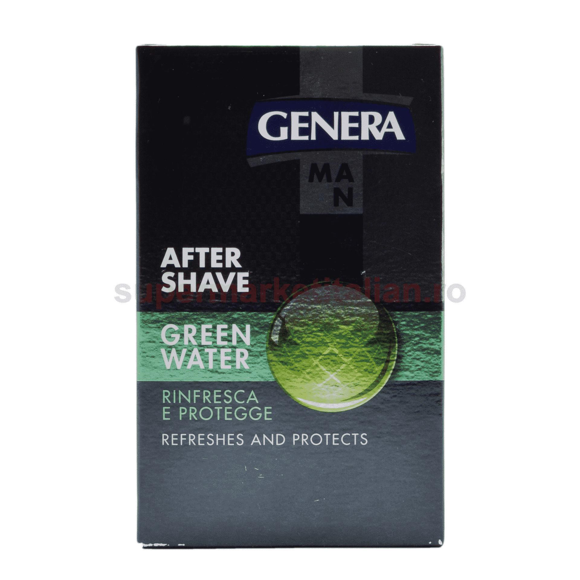 Loțiune după Genera Green Water 100 ml 8003693401316 1