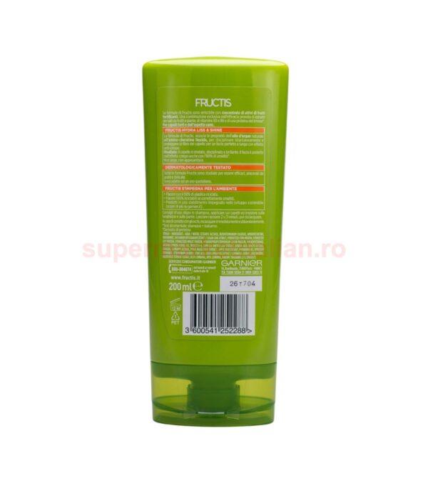 Balsam Pentru Par Garnier Fructis Hydra Liss Shine 200 ml 3600541252288 2