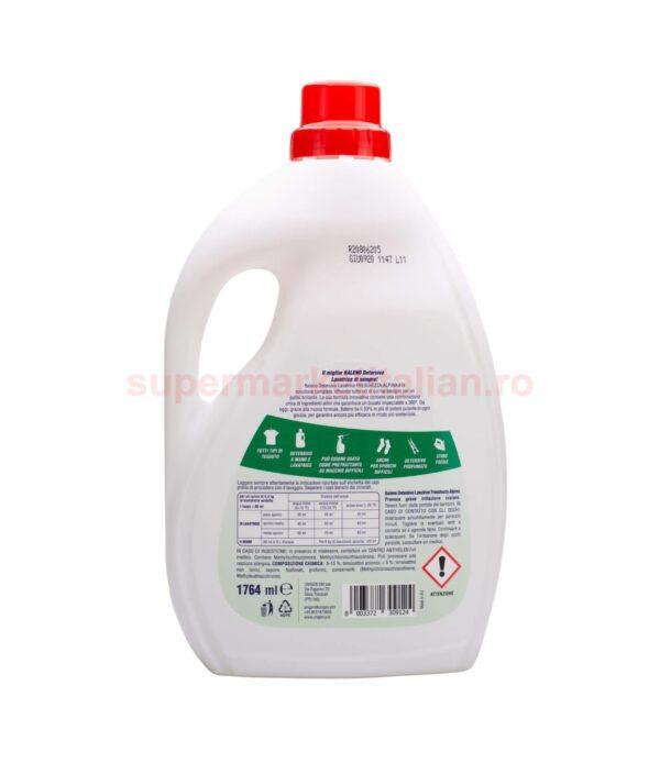 Detergent de rufe Baleno Prospetime alpina 35 spalari 1764 ml 8003372309124 2