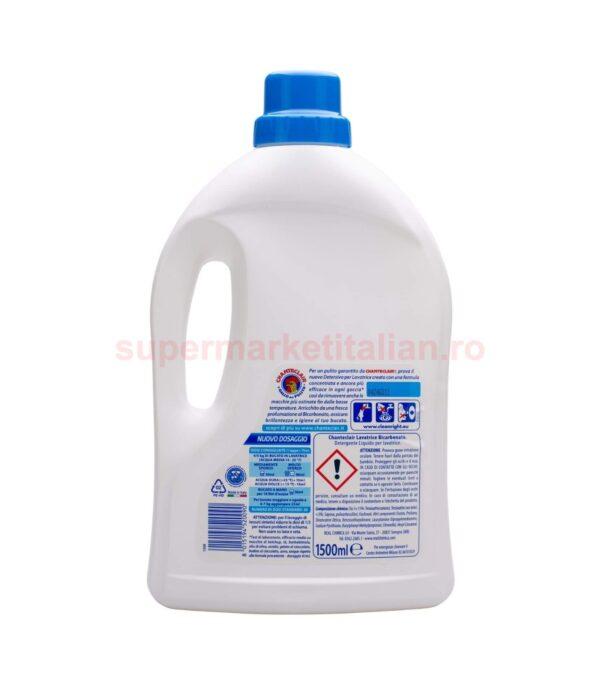 Detergent lichid Chanteclair cu Bicarbonat 30 spalari 1500 ml 8015194520090 2