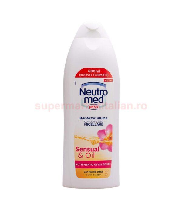 Gel de duș Neutromed cu complex micelar Sensual & Oil