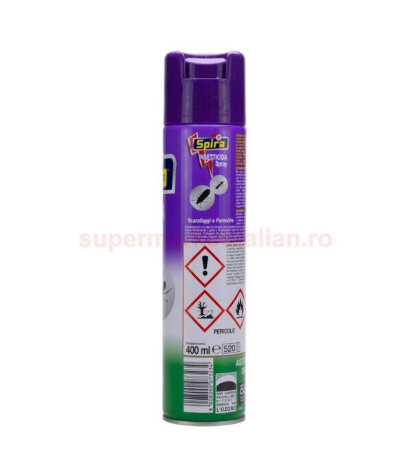 Insecticid Spira Gandaci de bucatarie si Furnici 400 ml 8008090073234 2