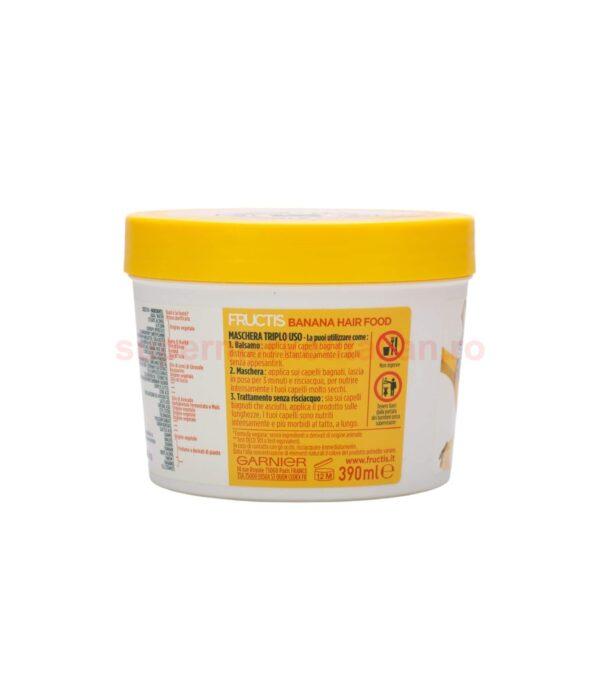 Masca de par Garnier Fructis Banane pentru par uscat 390 ml 3600542129268 2