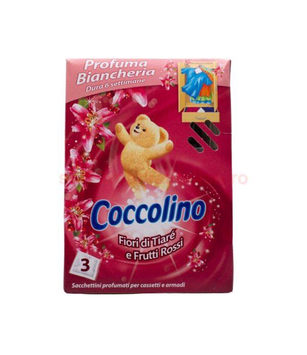Parfum Pentru Lenjerie Coccolino Flori De Tiare Si Fructe Rosii 3 plicuri 8710908176852 1
