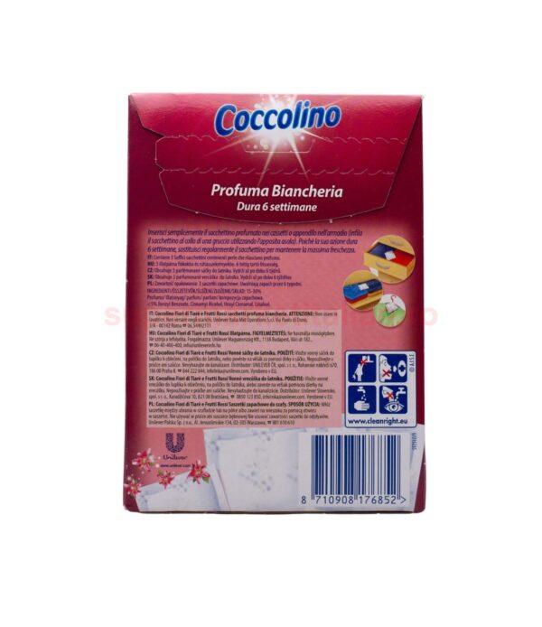 Parfum Pentru Lenjerie Coccolino Flori De Tiare Si Fructe Rosii 3 plicuri 8710908176852 3