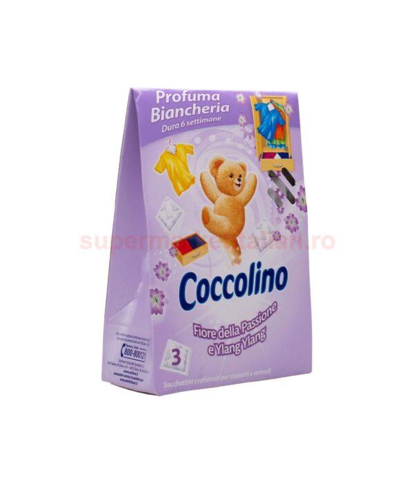 Parfum Pentru Lenjerie Coccolino Flori de pasiune si Ylang Ylang 3 plicuri 8000660310282 1 3