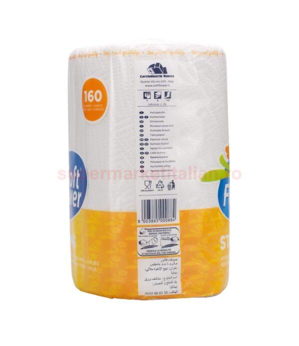Prosop de hartie Soft Flower Strong 160 foi 3 straturi 8003885000884 2
