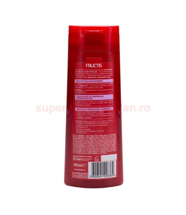 Sampon Garnier Fructis Fortificant Goji Color Resist 250 ml 3600541226364 2