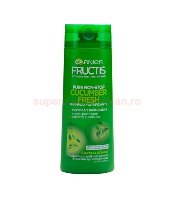 Sampon Garnier Fructis Fortificant Pure Non Stop Cucumber Fresh 250 ml 3600541204294 1