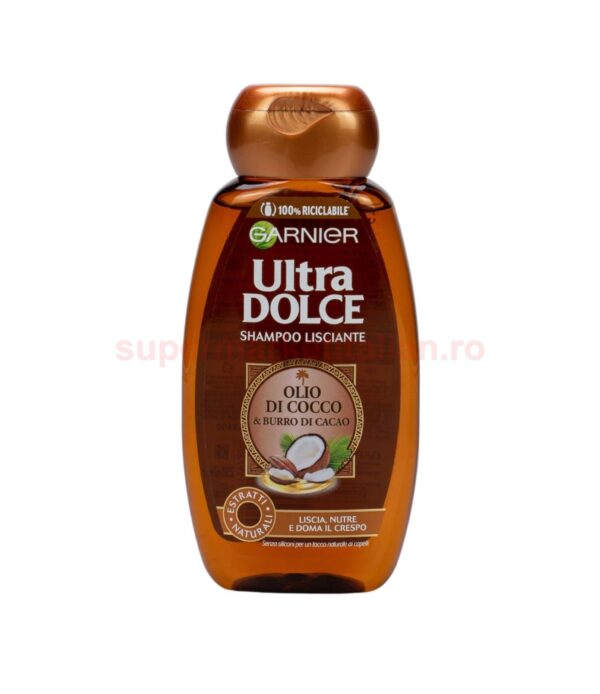 Sampon Garnier Ultra Dolce cu Ulei de Cocos si Unt de Cacao 250 ml 3600542159722 1