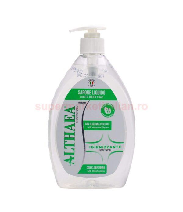 Săpun lichid igienizant Althaea Erbosteria cu Glicerină Vegetală
