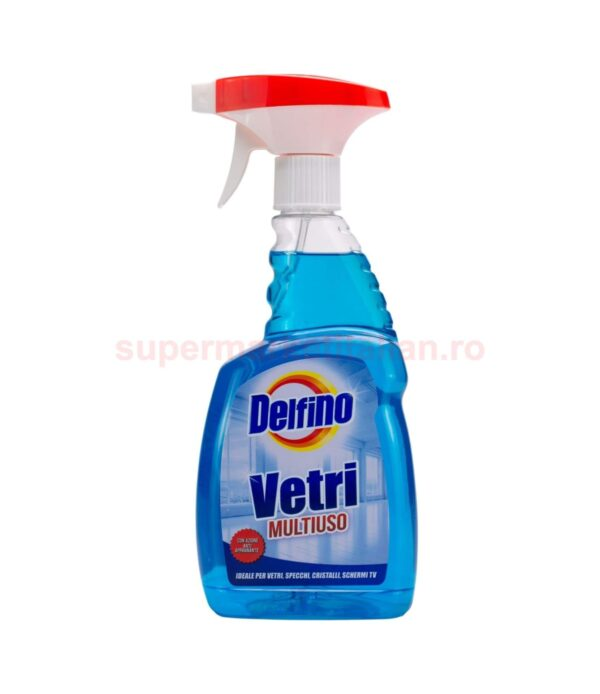 Solutie Spray Delfino Vetri Multiuso 600 ml 8018702000480 1