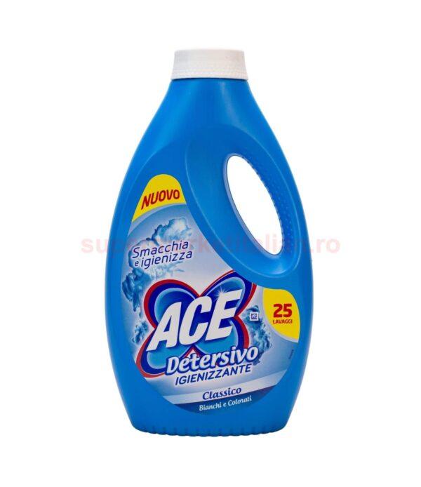 Detergent Lichid Ace Igienizant Classico 25 de spalari 1375 ml 8001480029392 1