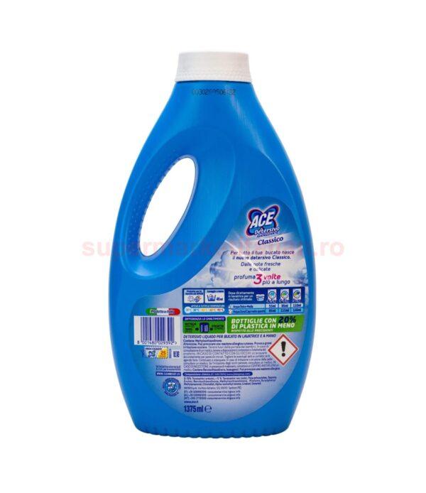 Detergent Lichid Ace Igienizant Classico 25 de spalari 1375 ml 8001480029392 2