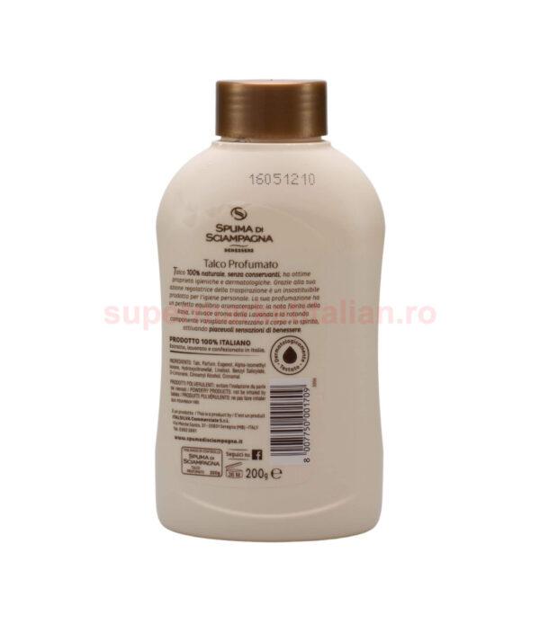 Pudra de talc Spuma di Sciampagna Piele moale si catifelata 200 g 8007750001709 2